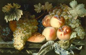 Dupuis, Pierre : Still Life with Peaches, M...