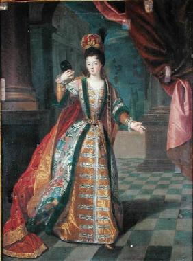 Portrait of a Woman in a Ball Gown