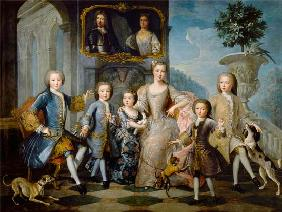 Portrait of the Family of the Duke of Valentinois