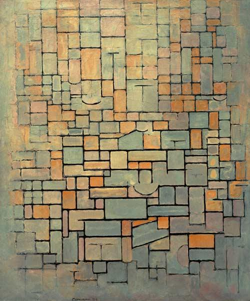 Tableau No, 1; Composition No.1; Compositie 7