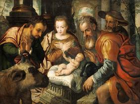 Aertzen, Pieter : The adoration of the sheph...