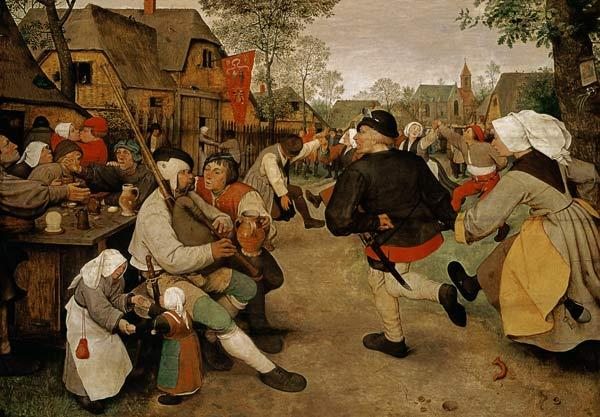 Brueghel the Elder, Pieter : Barn dance.
