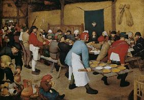 Brueghel the Elder, Pieter : Peasant Wedding
