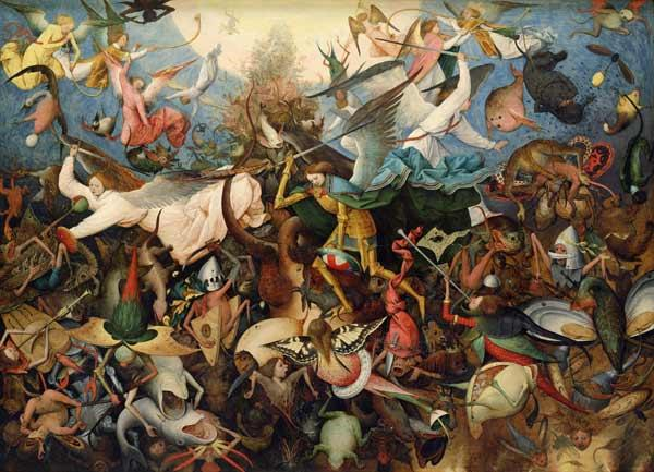 Brueghel the Elder, Pieter : Fall of the angels