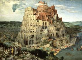 Brueghel the Elder, Pieter : The Tower of Babel