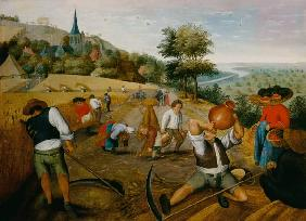 Brueghel the Younger, Pieter : The summer