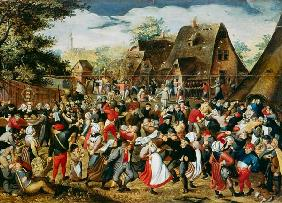 Brueghel the Younger, Pieter : The Village Festival