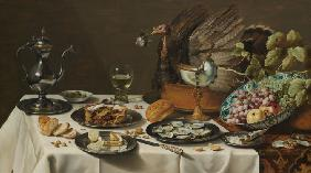 Still Life with Turkey Pie