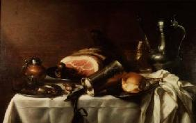 Still Life with a Ham