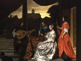 Musical Scene in Amsterdam