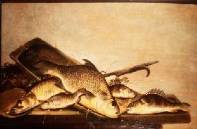 A Still Life of Perch and Pike