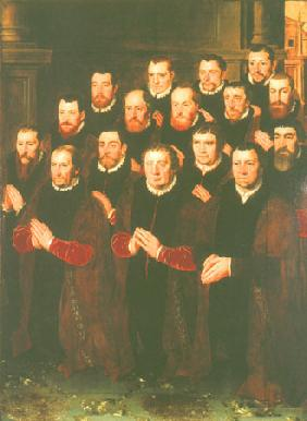 Portraits of the saints brotherhood (right wing)