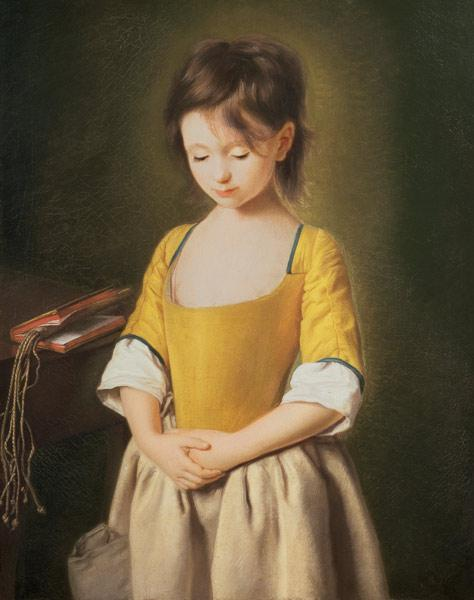 Portrait of a Young Girl, La Penitente