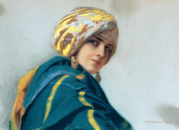 Girl in a Shawl