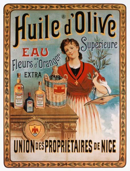 Advertising art : Poster advertising olive o...