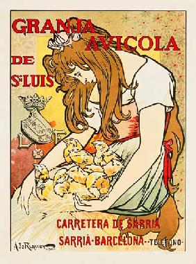 Advertising art : Granja Avicola De Sn