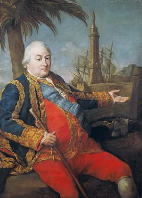 Pierre de Suffren-Saint-Tropez (1729-88) Vice Admiral of France