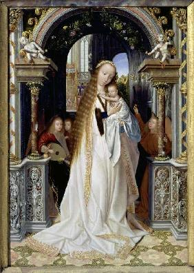 Massys, Quinten : The virgin with the child ...