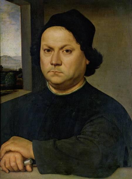 portrait of perugino raffael eigntl rafaello sant as art print or hand painted oil. Black Bedroom Furniture Sets. Home Design Ideas