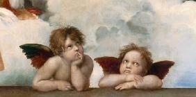 Two Cherubini - Sistine Chapel 1512/13