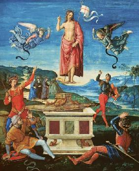 Raphael/The Resurrection o.Christ/c.1499