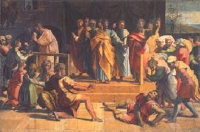 The death of the Ananias