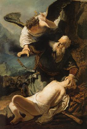 Sacrifice of Isaak