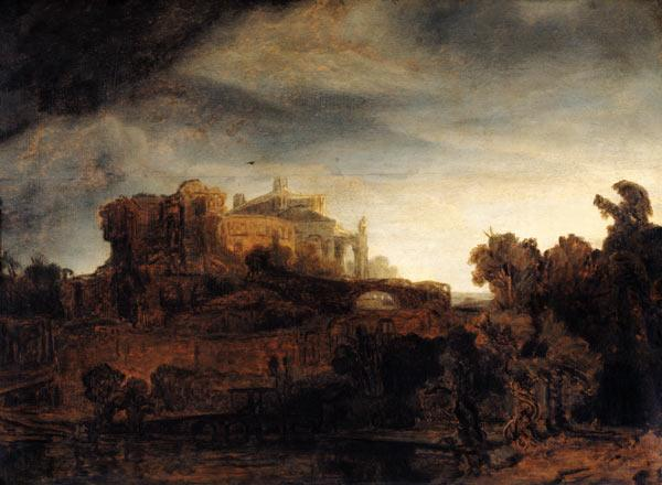 Landscape with a Chateau