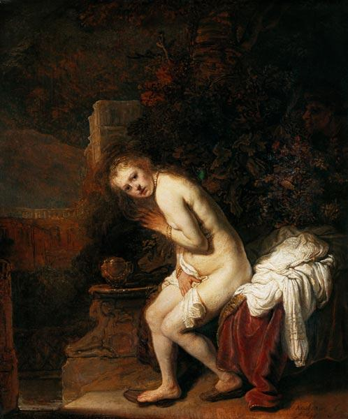 Susanna in the bath