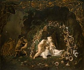 Richard Dadd - The sleeping Titania.