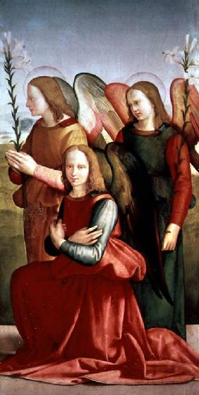 Ghirlandaio, Ridolfo : Three Angels (panel)