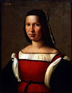 Ghirlandaio, Ridolfo : Portrait of a woman