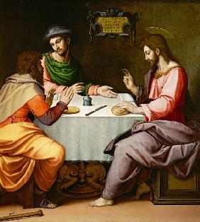 Ghirlandaio, Ridolfo : The Supper at Emmaus
