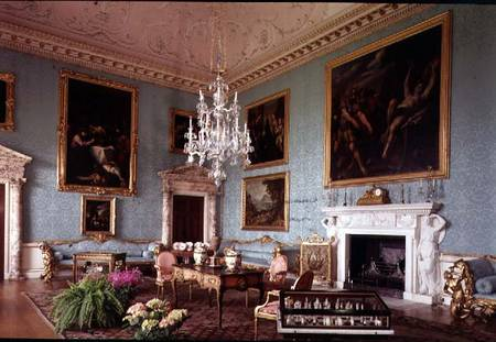 The Drawing Room (photo) - Robert Adam as art print or hand painted oil.