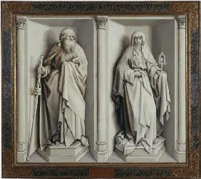 The Marriage of Mary and Joseph. (Reverse)
