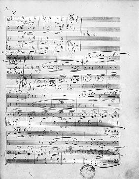 Ms.312, Phantasiestucke, Opus 88, for piano, violin and cello