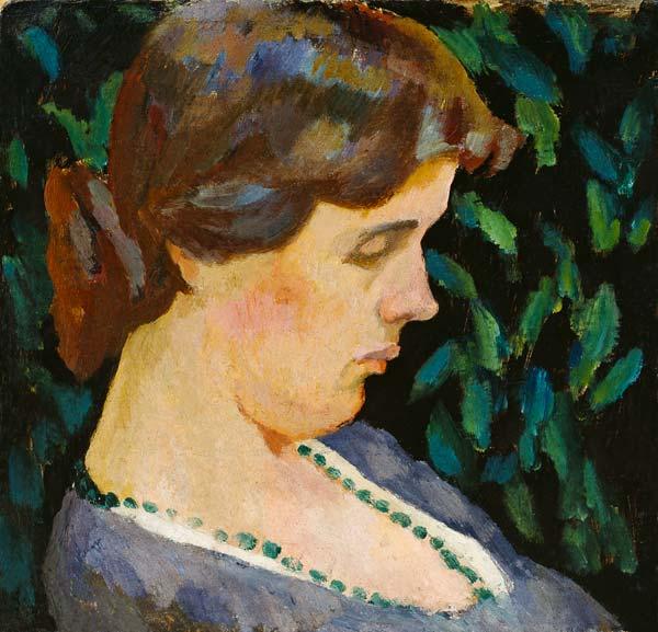 Portrait Of Vanessa Bell Roger Eliot Fry As Art Print Or
