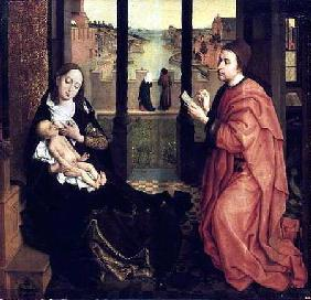 St. Luke Drawing a Portrait of the Virgin