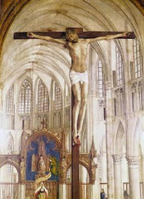 The Seven Sacraments Altarpiece, detail of Christ on the Cross
