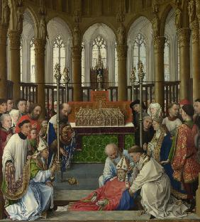 The Exhumation of Saint Hubert