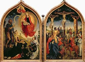 Joan of France (Diptych)
