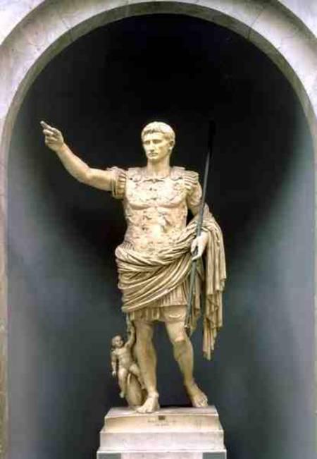 Augustus Of Prima Porta Roman As Art Print Or Hand