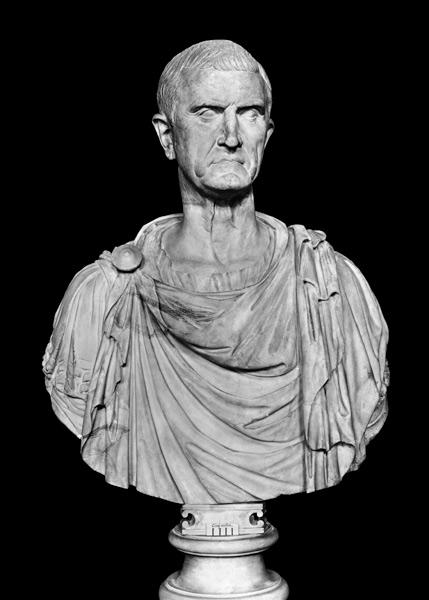 Bust Of Marcus Licinius Crassus C 115 5 Roman As Art