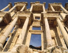 The Celsus Library, built in AD 135 (photo)