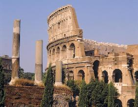 The Colosseum, built c.70-80 AD (photo)