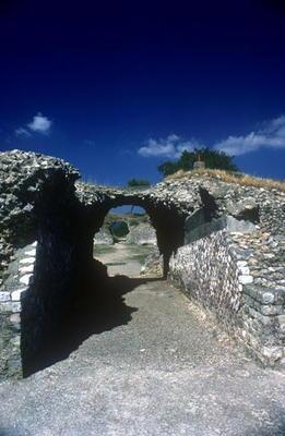Entrance to the Roman Amph...