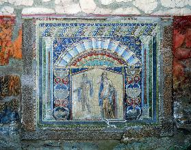 Mosaic from the House of Neptune and Amphitrite (mosaic) (for room see 113527)