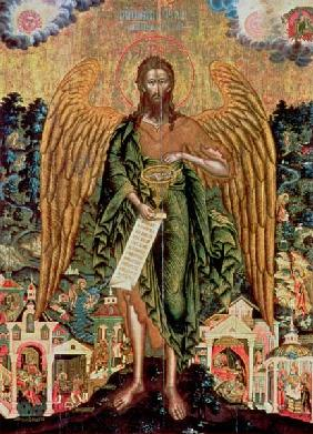St. John the Baptist, Angel of the Wilderness
