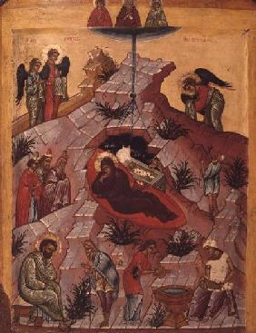 The Nativity, Russian icon