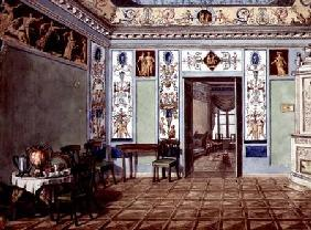 Neo-Classical Etruscan Breakfast Room